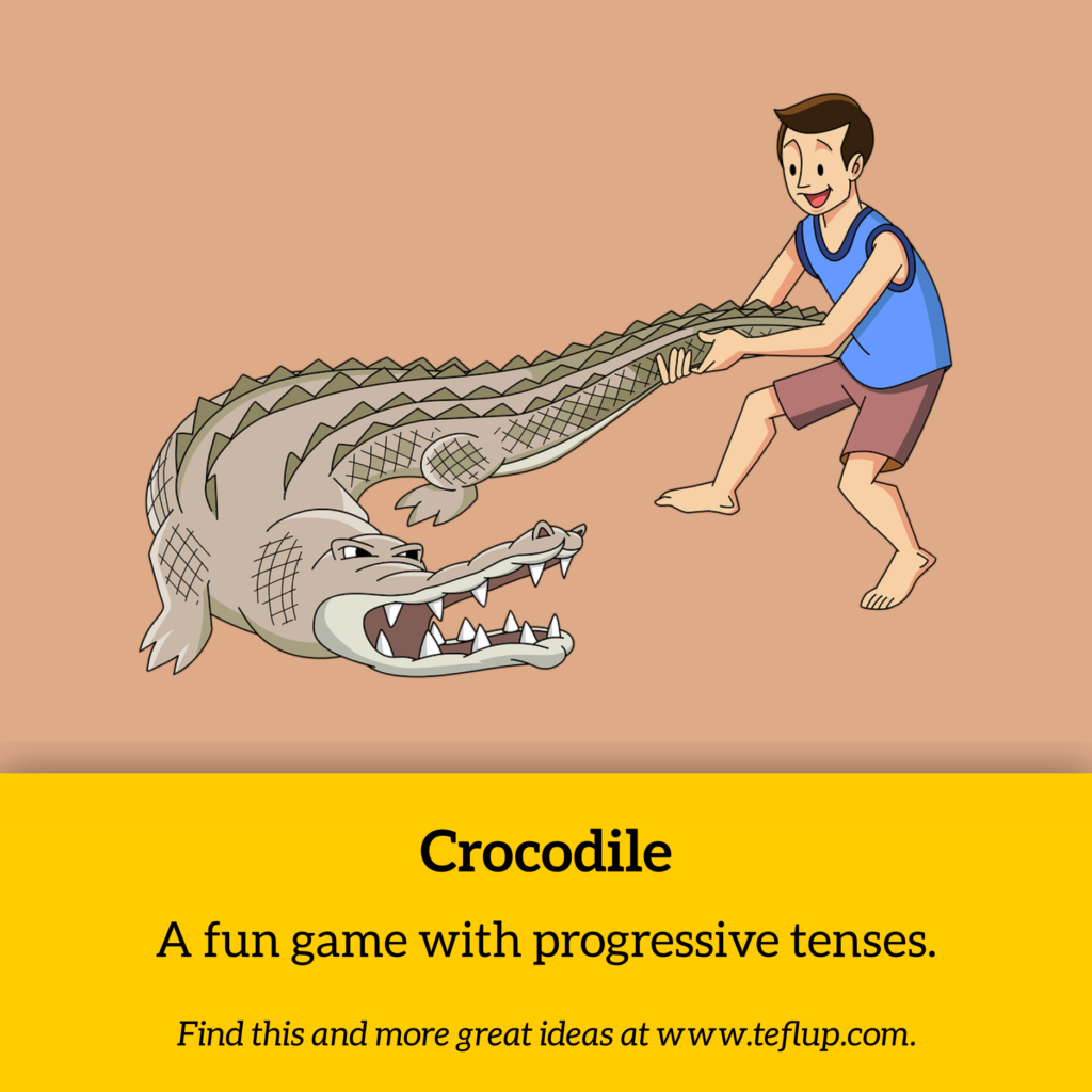 charades game crocodile