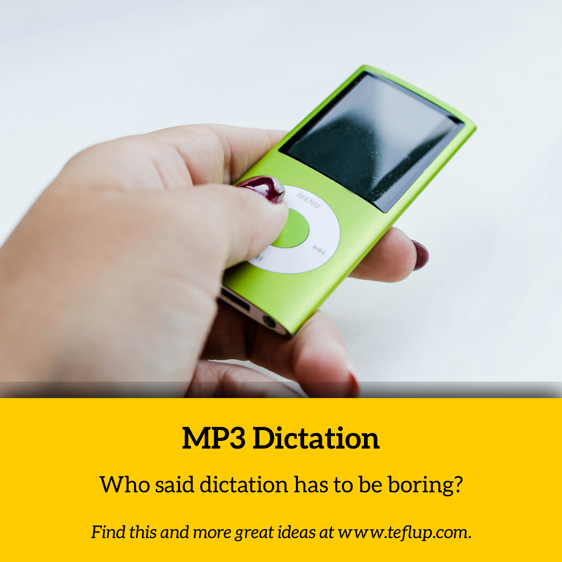 MP3 dictation