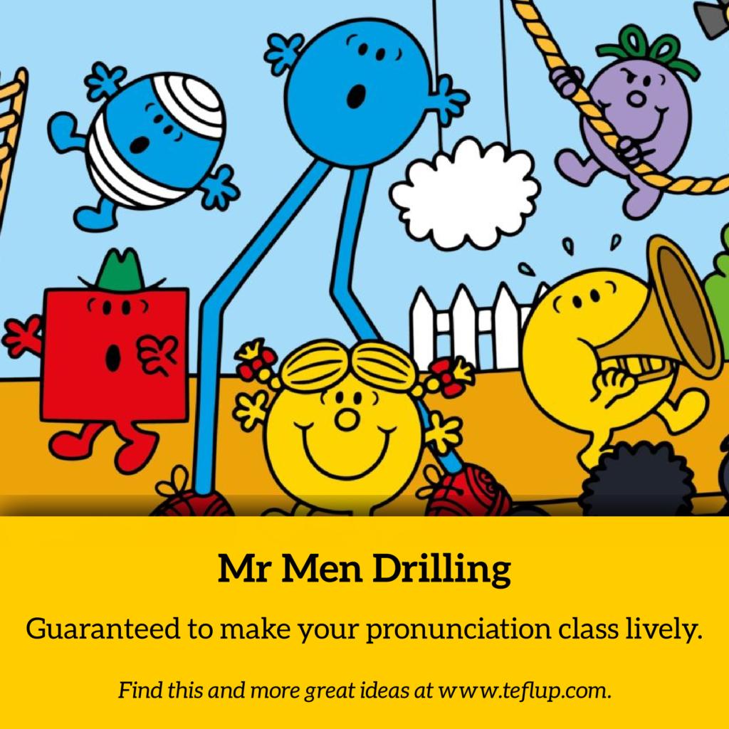 Mr Men Drilling