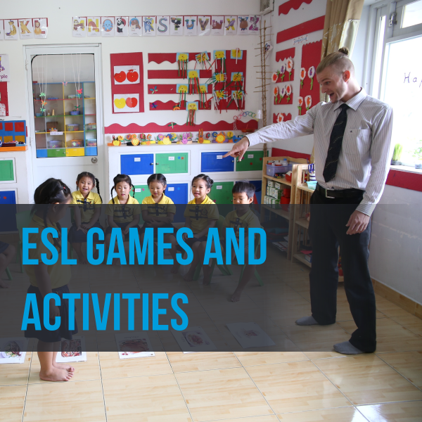 ESL games and activities