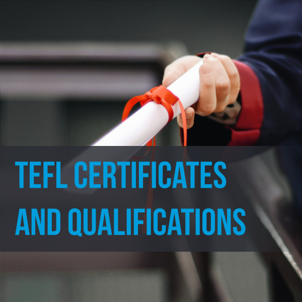 tefl certificates and qualifications