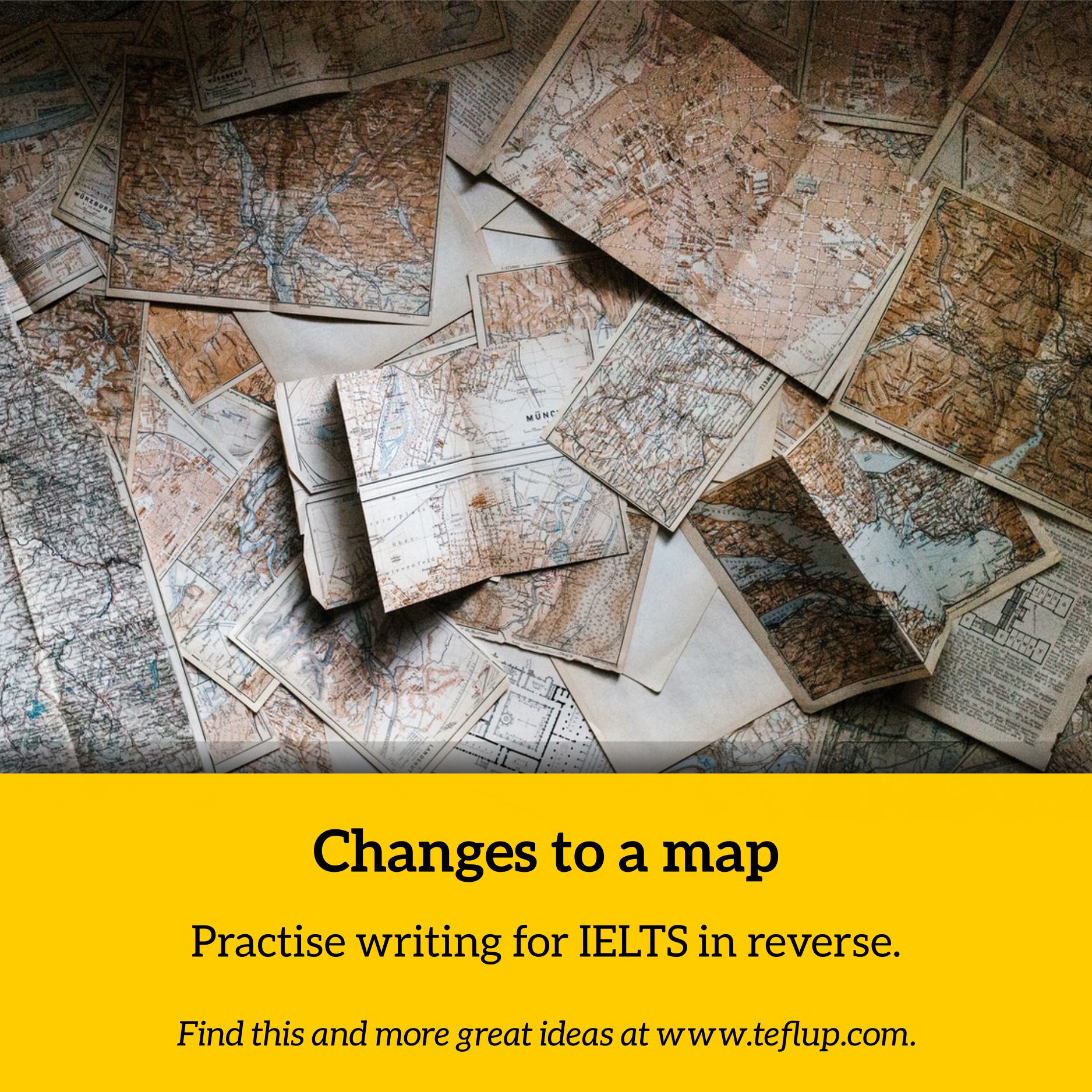 IELTS Writing changes to a map