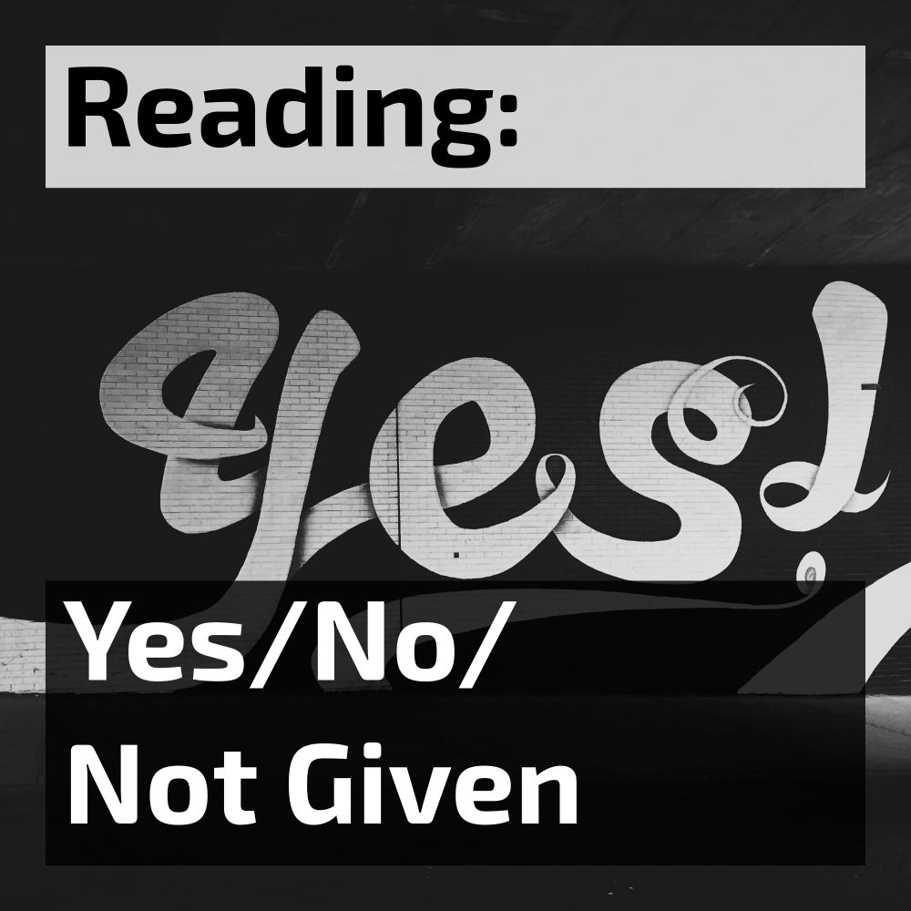 ielts reading yes no not given questions