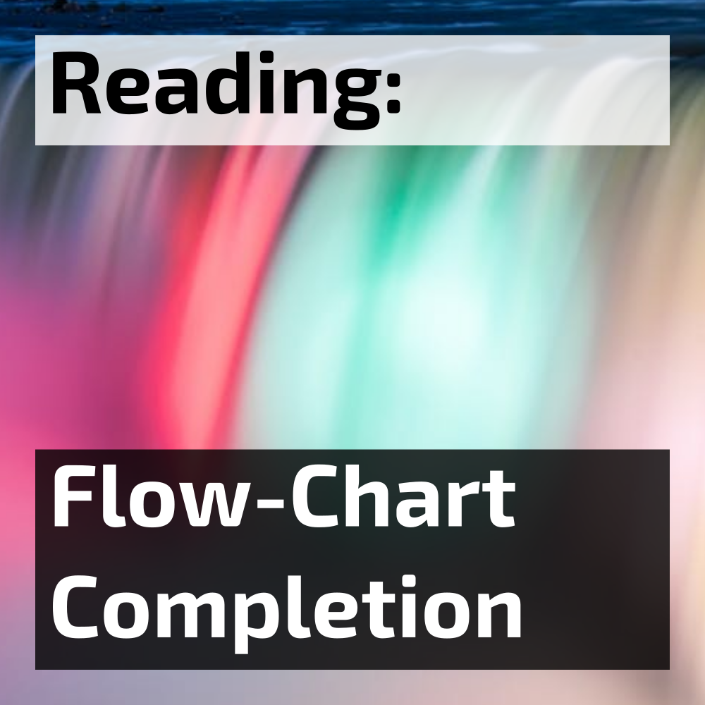 IELTS reading flow chart completion