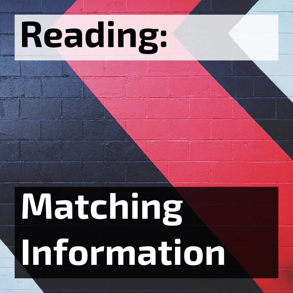 ielts reading matching information